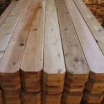 western red cedar fence panels dog eared
