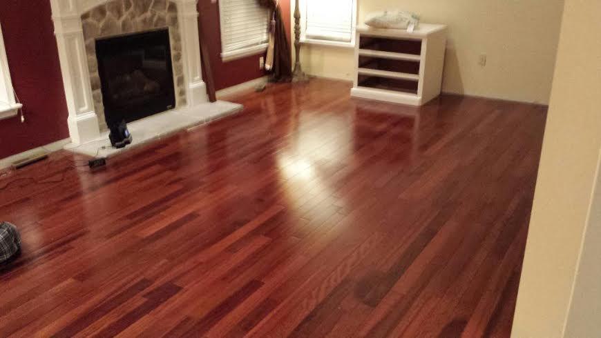 kempas tropical hardwood flooring