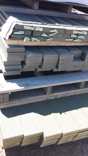 Rock bottom deals building supplies for pa md nj for Composite decking sale