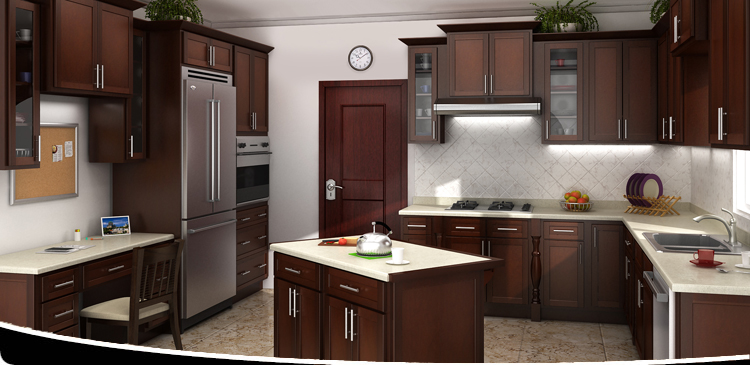 iks mocha shaker rta kitchen cabinetry cabinets discount sale