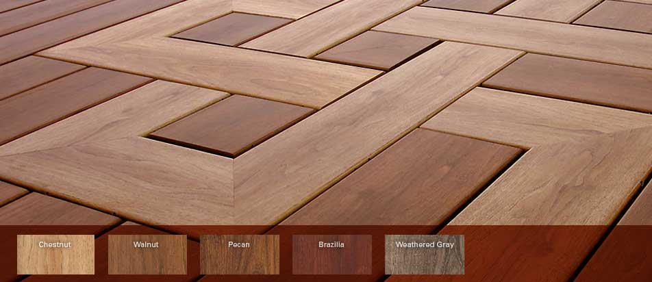 zuri colors pvc decking