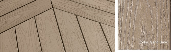 In stock pvc decking building materials supplies for Best composite decking brand 2016